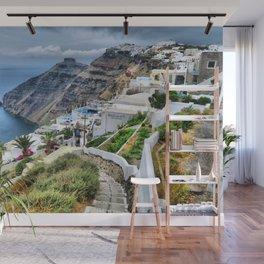 Santorini 3 Wall Mural