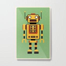 Toy Robot Metal Print