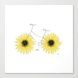 Sunflowers on the Go Canvas Print