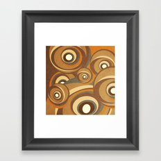 retro fit Framed Art Print