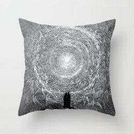 Gustave Dore: The Empyrean Throw Pillow