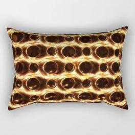 Fire and metal Rectangular Pillow