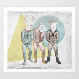 Shy Guy Art Print