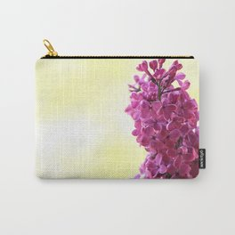 Purple lilac branch close up Carry-All Pouch