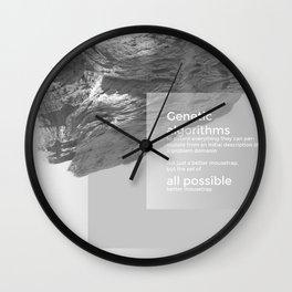 Genetic Algorithms Wall Clock