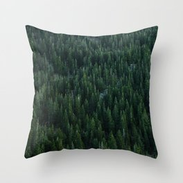 All the trees Throw Pillow