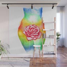 Sensual Rose Wall Mural