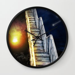 Stairway to.... u guess!  Wall Clock