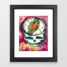 Steal Your Space  Framed Art Print