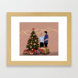 Merry Christmas - McDanno Framed Art Print