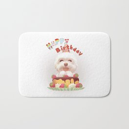 Happy Birthday Bath Mat