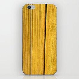 Wood Finish iPhone Skin