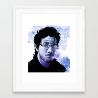 markiplier Framed Art Prints featuring Markiplier by RootisTabootus