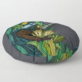 chameleon pewter Floor Pillow