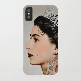 Rebel Queen iPhone Case