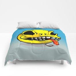 Packman Skull Comforters