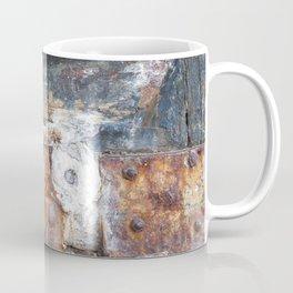 Flaky Blue Coffee Mug