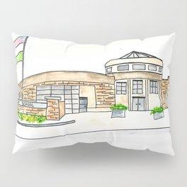 Trinity High School Watercolor Louisville, KY Pillow Sham