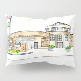 Trinity High School Watercolor Louisville, KY Pillow Sham