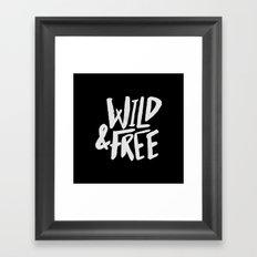 Wild and Free II Framed Art Print