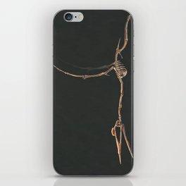 Quetzalcoatlus Northropi Skeletal Study (No Labels) iPhone Skin