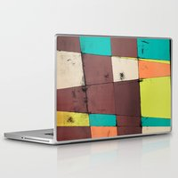 hot air balloon Laptop & iPad Skins featuring Hot Air Balloon II by Monty