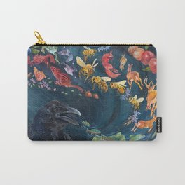 Crow Tells A Story Carry-All Pouch