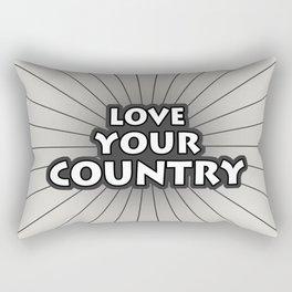Love Your Country Rectangular Pillow