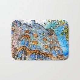 Barcelona, Casa Batllo Bath Mat