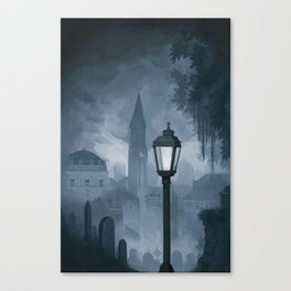 Dreary Day Canvas Print