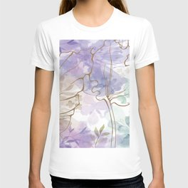Posy Cluster -- muted T-shirt