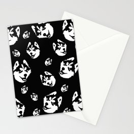 SIBERIAN HUSKY DOG Stationery Cards