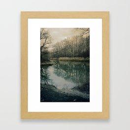 Die Auen Framed Art Print