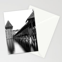 The Chapel Bridge Monochrome Stationery Cards