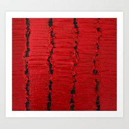 Primal Red Art Print