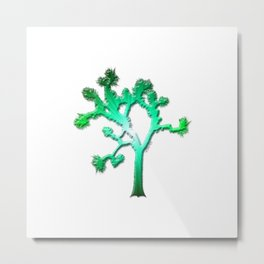 Joshua Tree Verdant by CREYES Metal Print