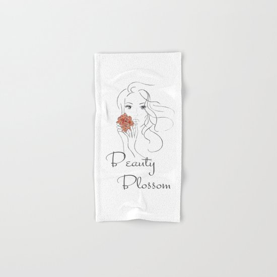 Beauty Blossom Hand & Bath Towel