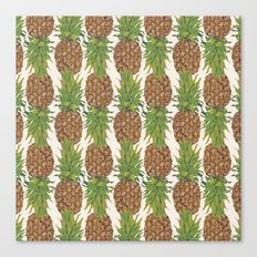 PINA COLADA: pineapple Canvas Print