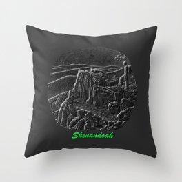 Shenandoah - Virginia Throw Pillow