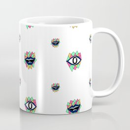 Pattern eye ball Coffee Mug