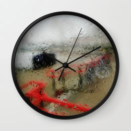 Rainy DayZ 30 Wall Clock