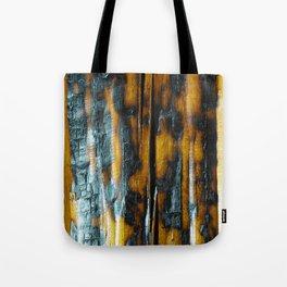 Wyoming Yellowstone Wildfire Log  Tote Bag
