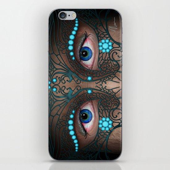 Halloween Mask - Painting iPhone & iPod Skin