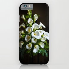 White Lilies Slim Case iPhone 6s