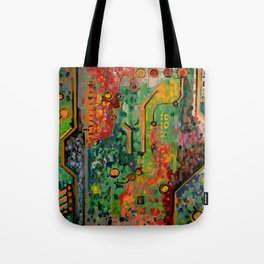 Interconnectedness Tote Bag
