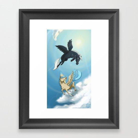 Afternoon A-Flight Framed Art Print