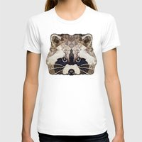 racoon T-shirts featuring Racoon by Ancello