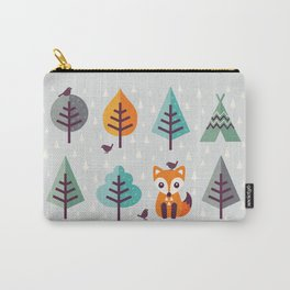 FOX IN THE FOREST Carry-All Pouch
