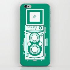 Yashica Mat 124G Camera Emerald iPhone & iPod Skin