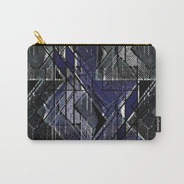 Geometric grunge print-1. Carry-All Pouch